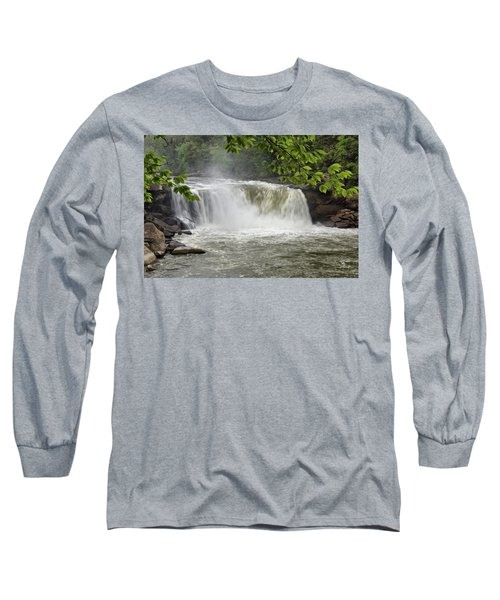 Cumberland Falls Close-up Long Sleeve T-Shirt