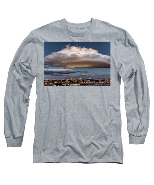 Long Sleeve T-Shirt featuring the photograph Cumulus Las Vegas by Michael Rogers