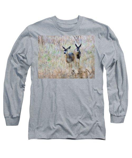 Curious Duo Long Sleeve T-Shirt