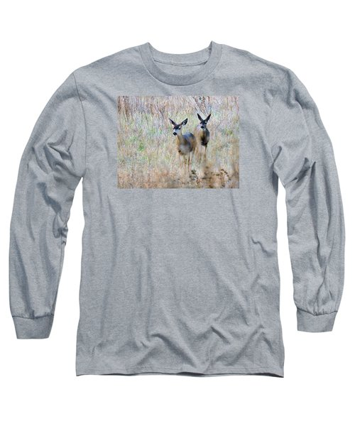 Curious Duo Long Sleeve T-Shirt