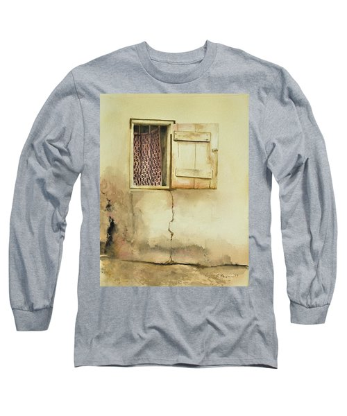 Curtain In Window Long Sleeve T-Shirt