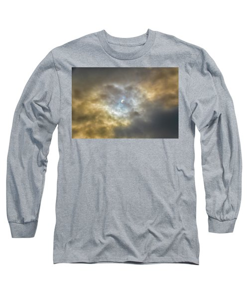 Curtain Of Clouds Eclipse Long Sleeve T-Shirt