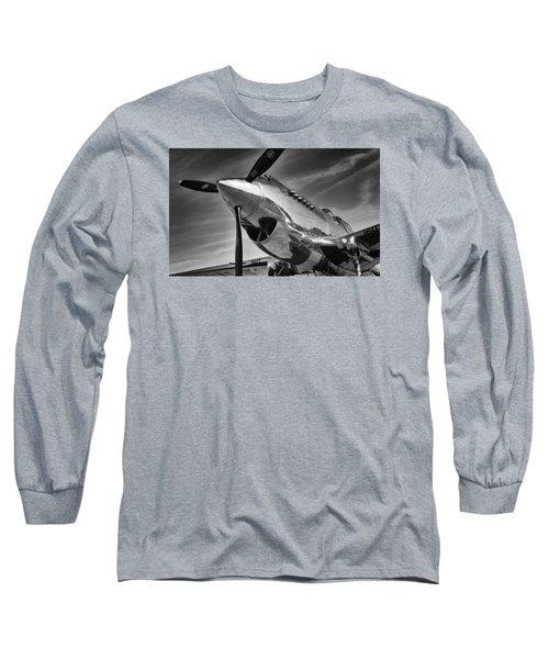 Curtiss P-40c Warhawk Long Sleeve T-Shirt
