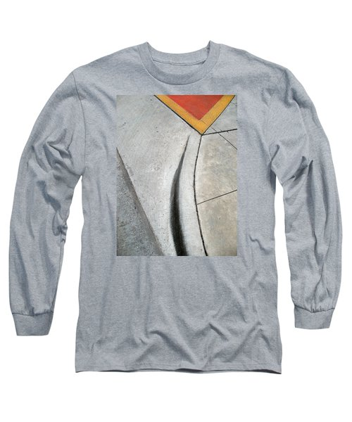 Red Triangle Long Sleeve T-Shirt