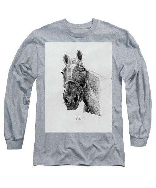 Cut The Horse Long Sleeve T-Shirt