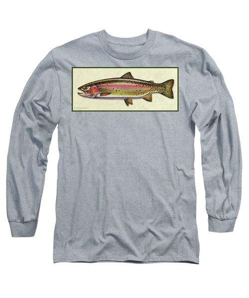 Cutthroat Trout Id Long Sleeve T-Shirt