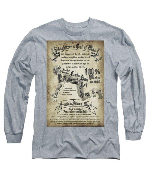 Cutting Human Long Sleeve T-Shirt