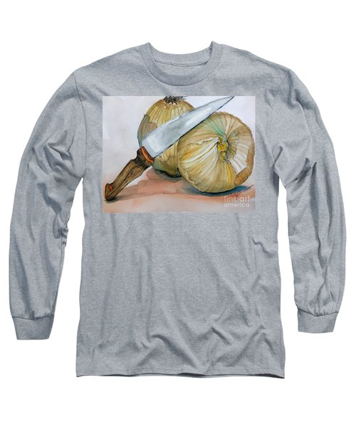 Cutting Onions Long Sleeve T-Shirt