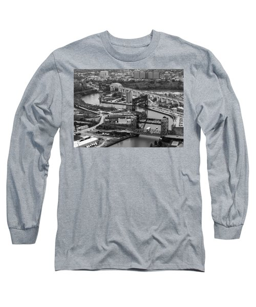 Cuyahoga River Long Sleeve T-Shirt