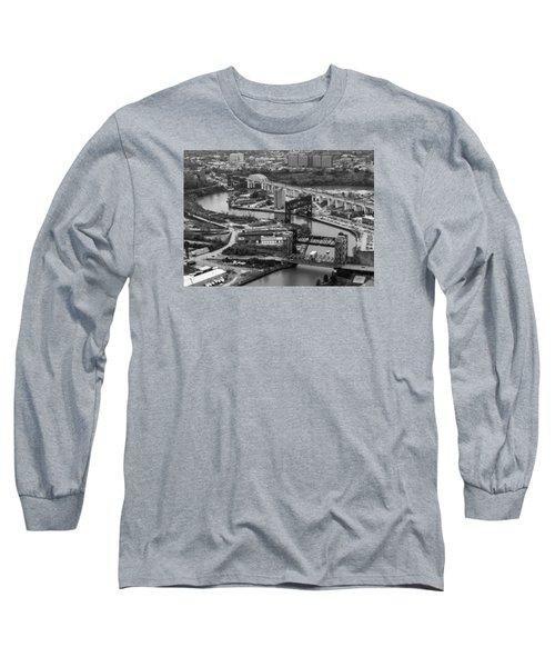 Cuyahoga River Long Sleeve T-Shirt