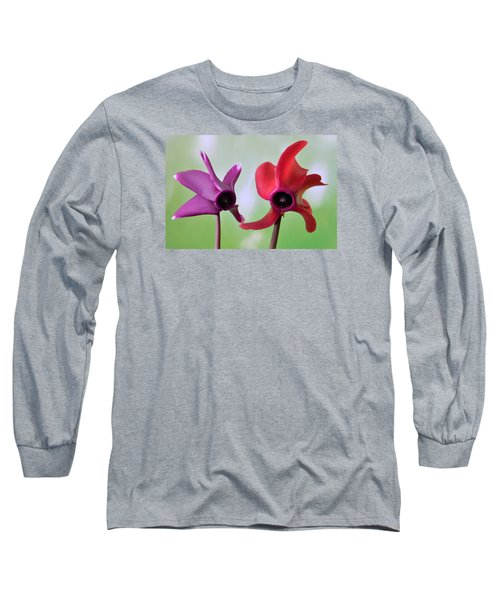 Cyclamen Duet. Long Sleeve T-Shirt
