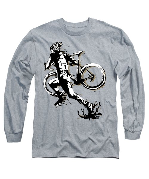 Cyclocross Poster1 Long Sleeve T-Shirt