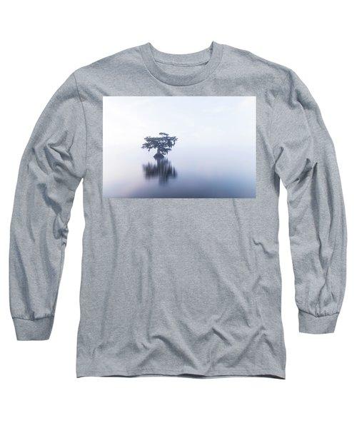 Cypress In Heavy Fog Long Sleeve T-Shirt