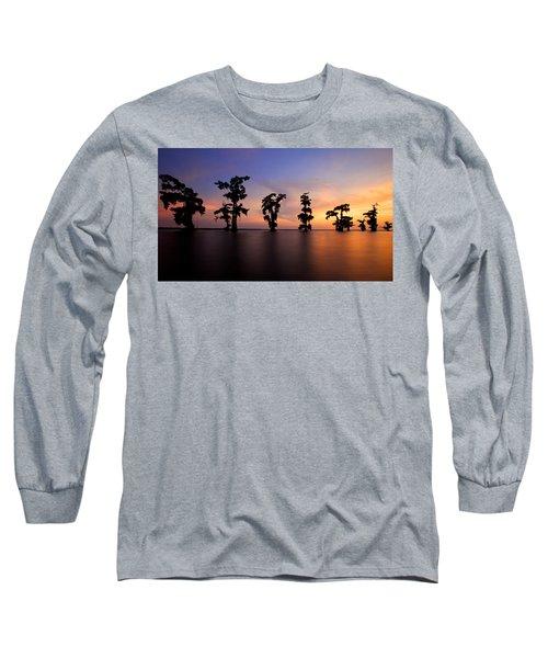 Cypress Trees Long Sleeve T-Shirt