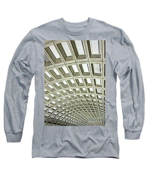 D C Metro 2 Long Sleeve T-Shirt by Randall Weidner