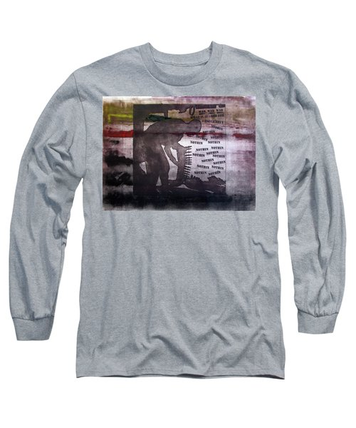 D U Rounds Project, Print 42 Long Sleeve T-Shirt