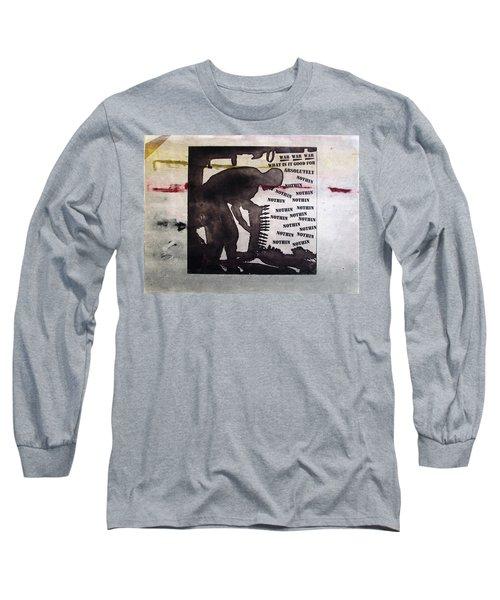D U Rounds Project, Print 8 Long Sleeve T-Shirt