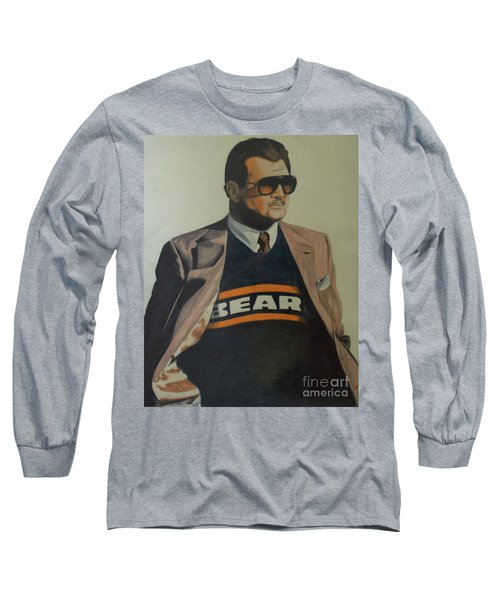 Da Coach Ditka Long Sleeve T-Shirt by Melissa Goodrich