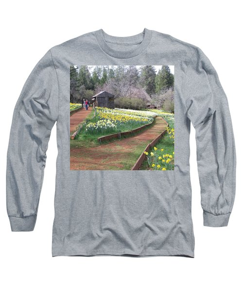 Daffodil Hill Pathway Long Sleeve T-Shirt