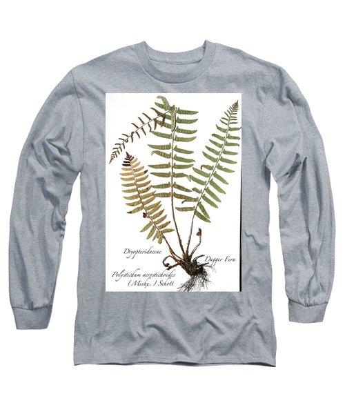 Dagger Fern Long Sleeve T-Shirt