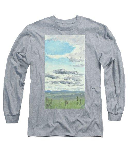 Dagrar Over Salenfjallen- Shifting Daylight Over Distant Horizon 10 Of 10_0029 Long Sleeve T-Shirt
