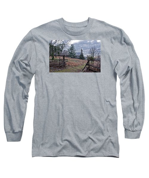 Dahlgren Chapel Winter Scene Long Sleeve T-Shirt
