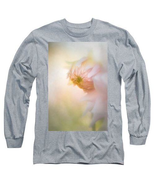 Dahlia In The Soft Morning Mist Long Sleeve T-Shirt