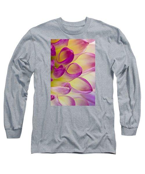 Dahlia Petals 4 Long Sleeve T-Shirt