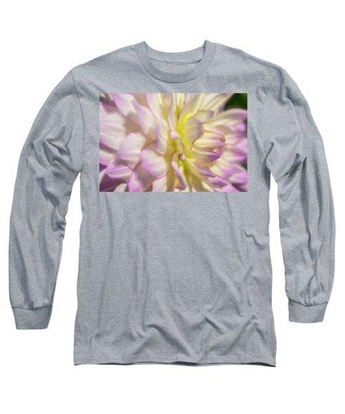 Dahlia Study 5 Painterly  Long Sleeve T-Shirt