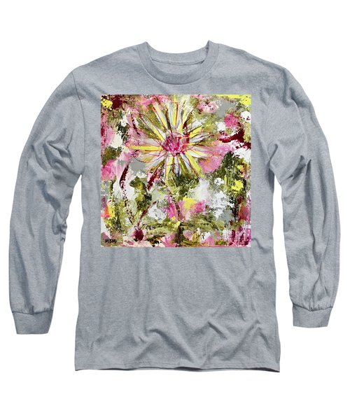 Daisies On Parade No. 1 Long Sleeve T-Shirt