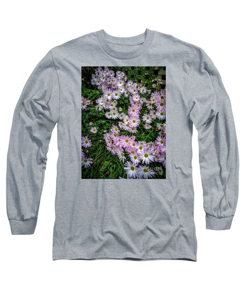 Daisy Patch Long Sleeve T-Shirt by David Smith