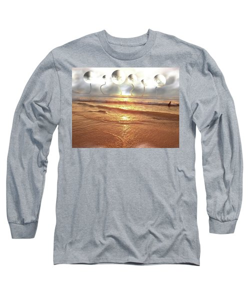 Dali, Here In Brazil Long Sleeve T-Shirt