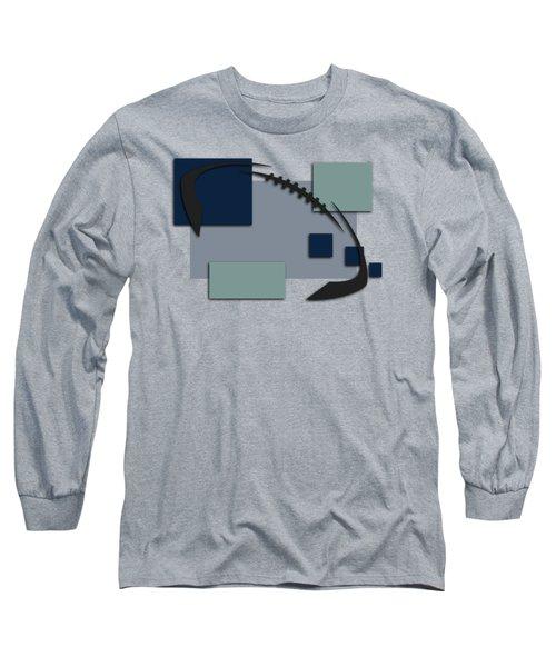 Dallas Cowboys Abstract Shirt Long Sleeve T-Shirt by Joe Hamilton