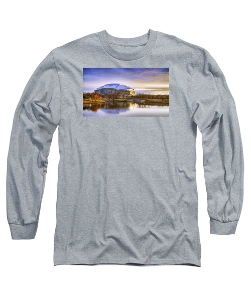 Dallas Cowboys Stadium Arlington Texas Long Sleeve T-Shirt