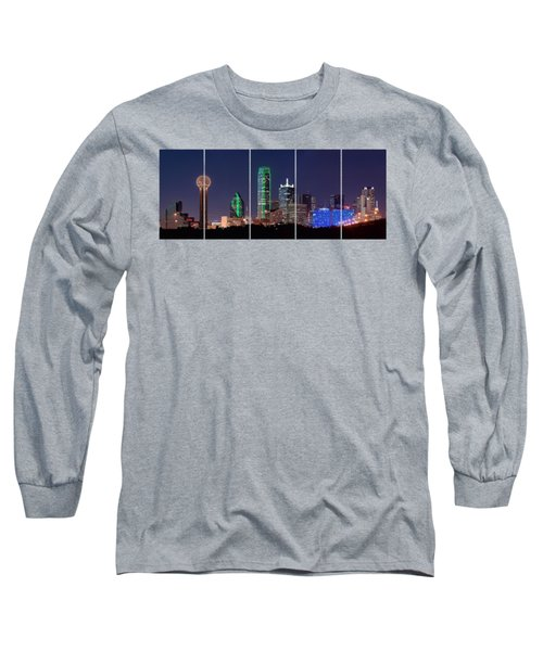 Dallas Png Transparency 031018 Long Sleeve T-Shirt