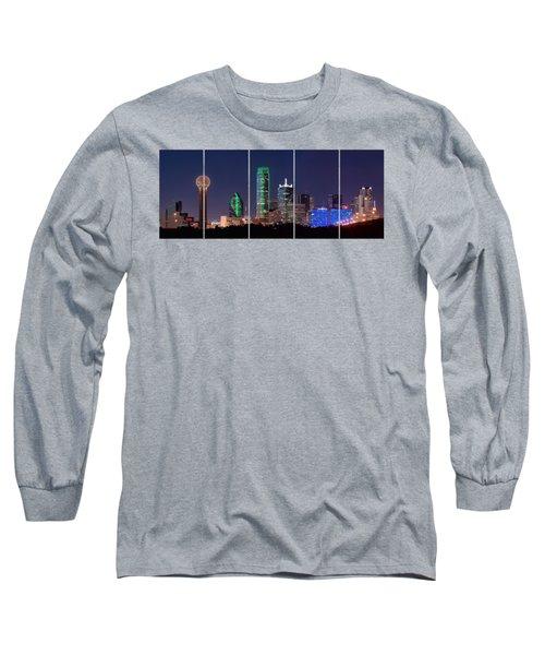 Dallas Png Transparency 031018 Long Sleeve T-Shirt