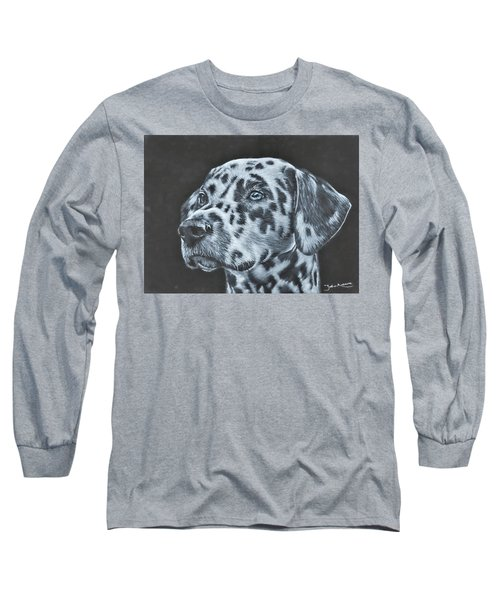 Dalmation Portrait Long Sleeve T-Shirt