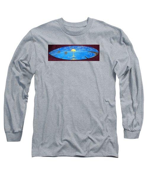 Dana Point Yesterday  Long Sleeve T-Shirt