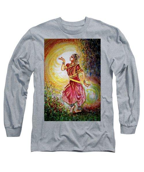 Dance Long Sleeve T-Shirt by Harsh Malik