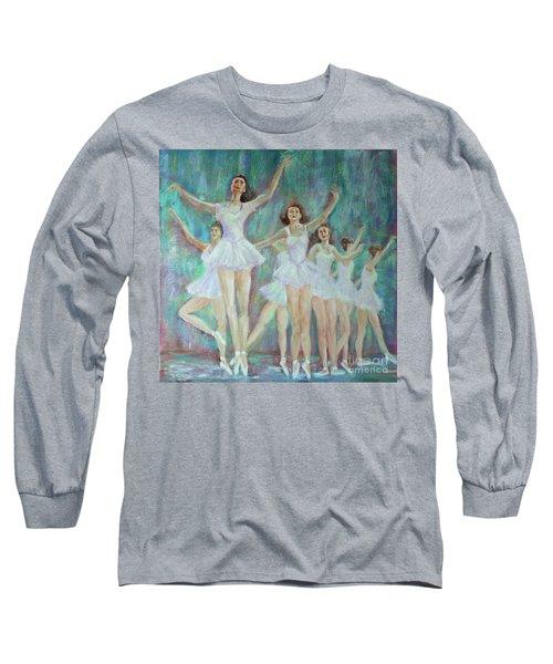 Dance Rehearsal Long Sleeve T-Shirt by Lyric Lucas
