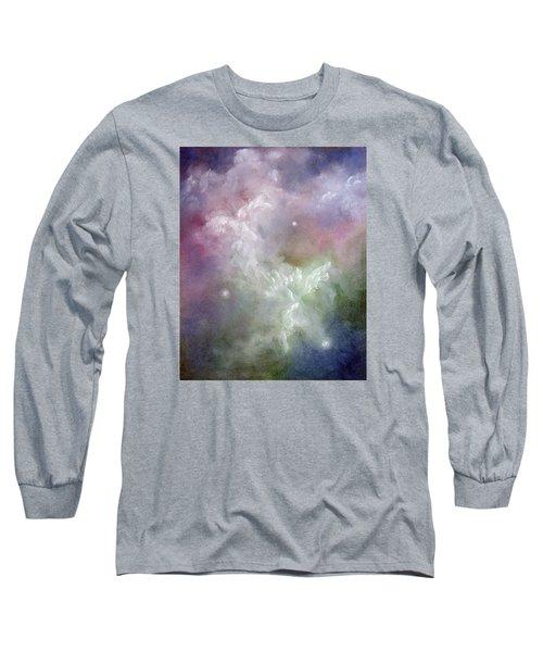Dancing Angels Long Sleeve T-Shirt by Marina Petro