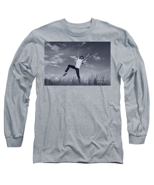 Dancing At The Beach Long Sleeve T-Shirt