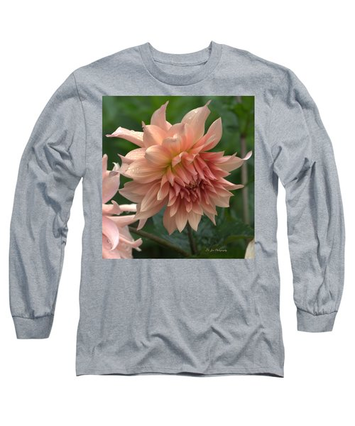 Dancing In The Rain Long Sleeve T-Shirt by Jeanette C Landstrom
