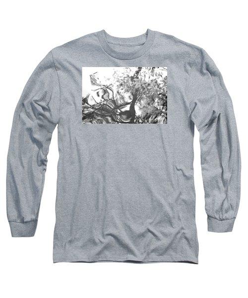 Dancing Leaves Long Sleeve T-Shirt by Linda Geiger