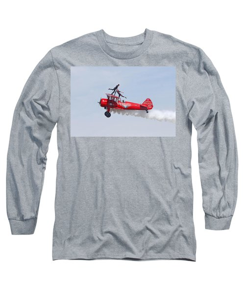 Dancing On The Wings Long Sleeve T-Shirt by Shoal Hollingsworth