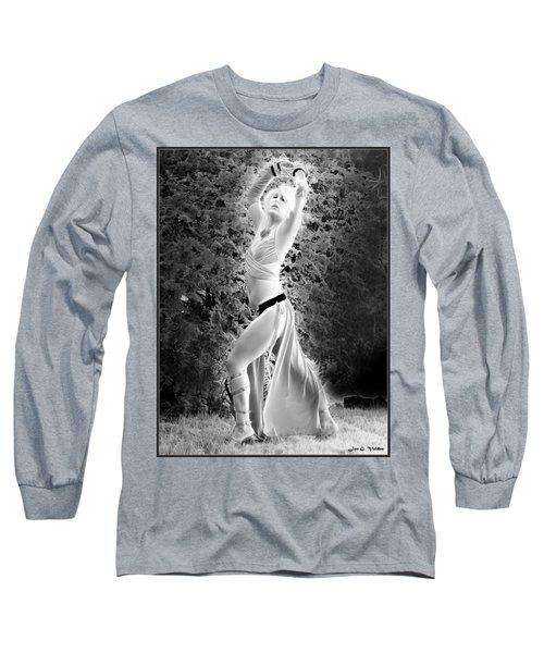 Dancing Slave Girl Long Sleeve T-Shirt