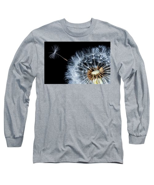 Long Sleeve T-Shirt featuring the pyrography Dandy by Bess Hamiti
