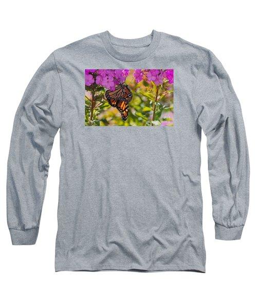 Dangling Monarch   Long Sleeve T-Shirt
