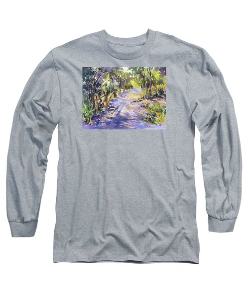 Dappled Morning Walk Long Sleeve T-Shirt