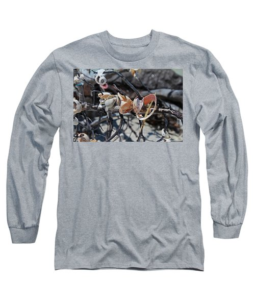 Long Sleeve T-Shirt featuring the photograph Dare To Touch by Michiale Schneider